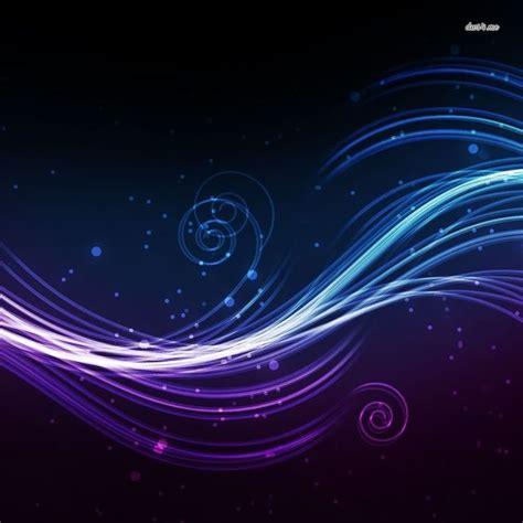 Abstract Circle Wave Swirl Purple
