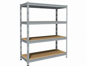 Etagere Sans Vis : etagere acier cool etagere metal leroy merlin avec etag ~ Premium-room.com Idées de Décoration