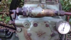Binks Lowboy Air Compressor Quincy 216 Compressor Pump