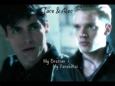 Jace And Alec  My Parabatai My Brother (1x09) Youtube