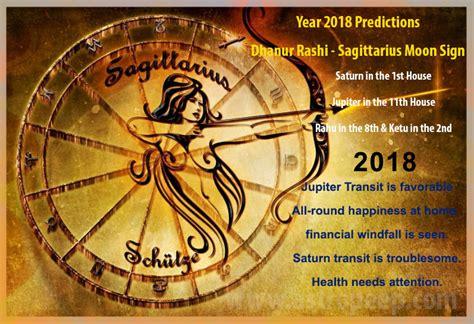 Dhanur Rashi 2018 Predictions