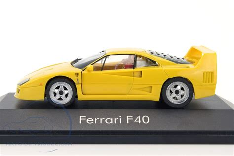 Pocher ferrari f40 plus autograph transkit. Ferrari F40 year 1987-1992 yellow - 010030