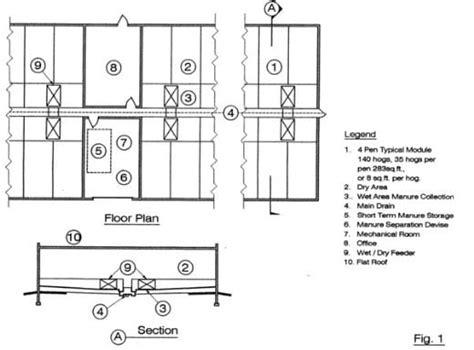 Hog Barn Plans by Denny Barn Plans For Cattle