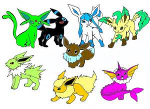 All Shiny Eevee Evolutions