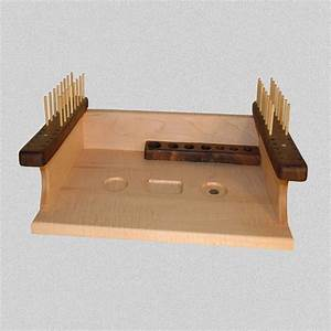 Hand Made Fly Tying Bench by Rainbow Woodworks