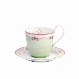 Tasse Mit Untertasse : greengate porzellan tasse mit untertasse amelie white online kaufen emil paula ~ Sanjose-hotels-ca.com Haus und Dekorationen