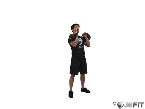 kettlebell thruster jefit exercise enlarge