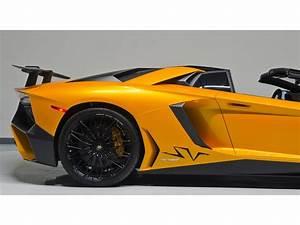 Aventador Sv Roadster : lamborghini aventador lp 750 4 superveloce roadster listed ~ Medecine-chirurgie-esthetiques.com Avis de Voitures