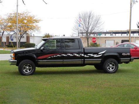 chevy 4 door truck for buy used 1998 chevy 1 ton 4 x 4 4 door 454 silverado in