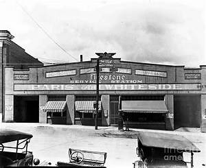 Old Firestone Store Circa 1930 Photograph by Cris Hayes