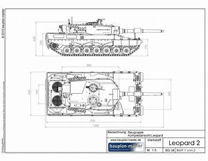 Modell Panzer Selber Bauen : modellbauplan leopard 2a4 im ma stab 1 8 bauplan master ~ Jslefanu.com Haus und Dekorationen