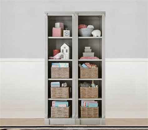 Bookcase Tower Set by 51 Bookcase Tower Set Grace Bookcase Tower Pottery Barn