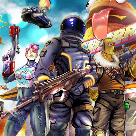 Customize your desktop, mobile phone and tablet with our wide variety of cool and interesting fortnite wallpapers in just a few clicks! Desktop wallpaper 2018, video game, fortnite, art, hd image, picture, background, b0fc04