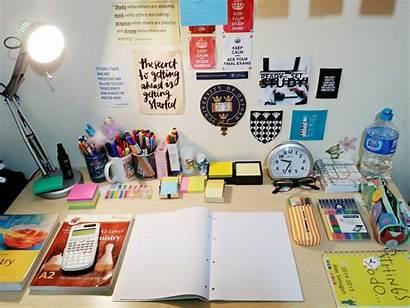 Study Desk Homework Table Motivation Supplies Complete