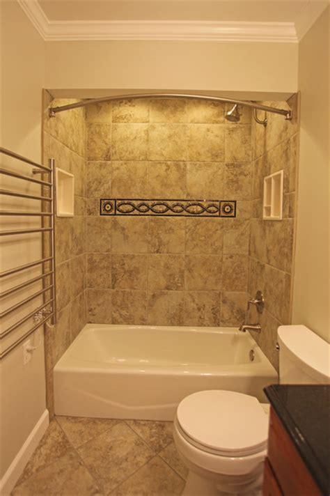 Drop In Cast Iron Bathtub by Small Bathroom Ideas Traditional Bathroom Dc Metro