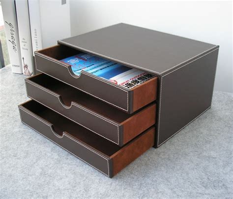 desk drawer file organizer popular leather file cabinet buy cheap leather file