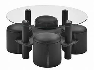 Table Basse Pouf Intégré : table basse en verre avec pouf ikea le bois chez vous ~ Dallasstarsshop.com Idées de Décoration