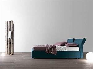 Bett Mit Kopfteil Stoff : reflex bett aus stoff by presotto design pierangelo sciuto ~ Markanthonyermac.com Haus und Dekorationen