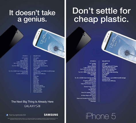 samsung apple fight to the marketing arena the new