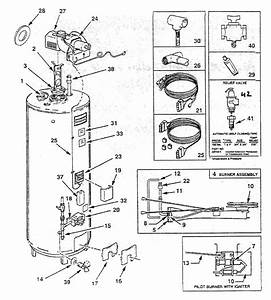 Ao Smith Fpse75230 Gas Water Heater Parts
