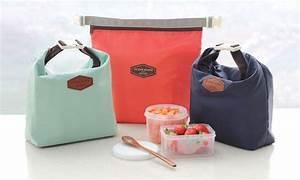 Lunch Bag Isotherme : sac lunch isotherme groupon shopping ~ Teatrodelosmanantiales.com Idées de Décoration