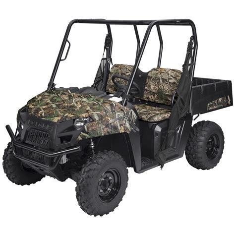 gear utv bench seat cover polaris ranger mid size 400 500 and 800 series 648118 atv