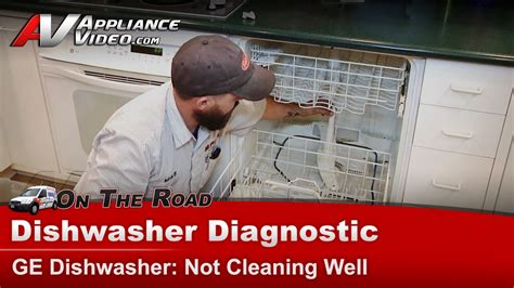 ge hotpoint dishwasher diagnostic  cleaning dishes
