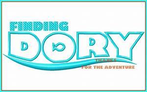 Finding Dory Logo Nemo Digital Embroidery Machine Applique