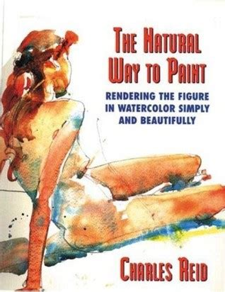 natural   paint rendering  figure  watercolor simply  beautifully  charles reid