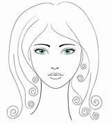 Eyebrows Eyebrow Face Shape Diamond Perfect Vip Coloring Eye Morebeautifulme Template sketch template
