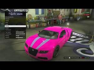 GTA 5 line Secret Paint Jobs Neon Purple Gold Kifflom