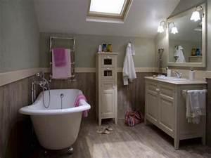 Meuble Style Campagne Chic : 10 salles de bains de charme ~ Farleysfitness.com Idées de Décoration