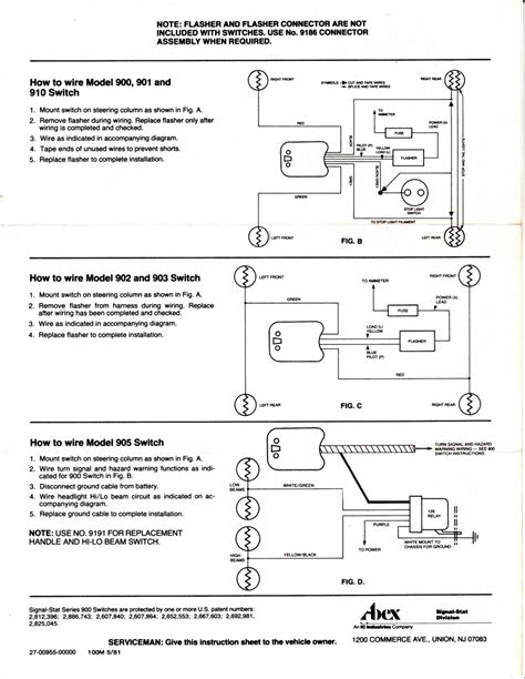 Technical Signal Stat Wire Turnsignal Switch