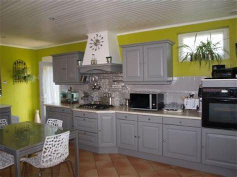 cuisine gris et vert cuisine vert de gris