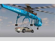 Carvana to Introduce Air Deliveries for Vehicles through