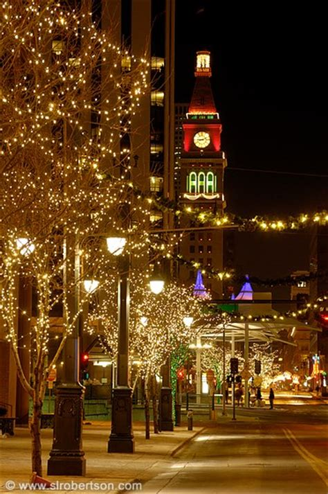 photo of downtown denver christmas lights 3 scott l