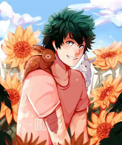 Bunny Boy Midoriya Cherriielle Izuku Anime Reader