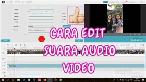 Maybe you would like to learn more about one of these? CARA EDIT SUARA AUDIO VIDEO DI FILMORA - YouTube