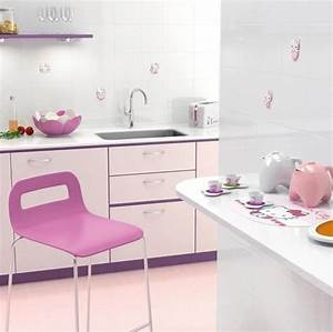 15 cute hello kitty kitchen ideas ultimate home ideas With kitchen colors with white cabinets with pink nation stickers