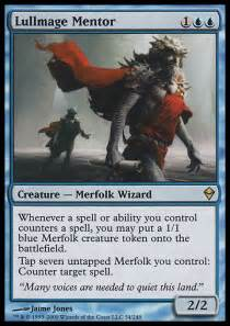 Mtg Merfolk Deck Tapped Out by Lullmage Mentor Zen Mtg Card