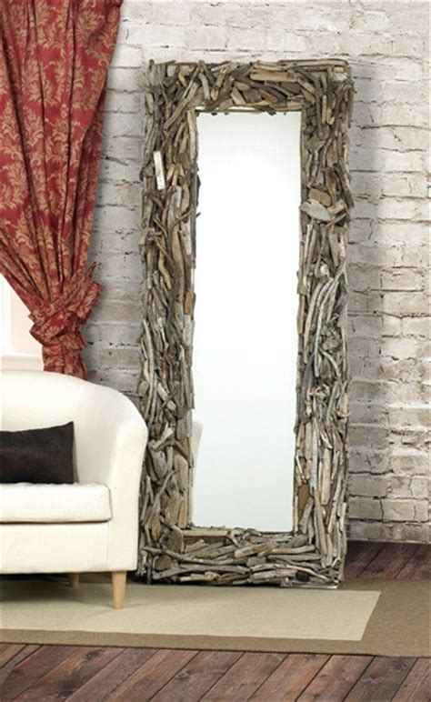 diy driftwood inspirations mirror  desired home