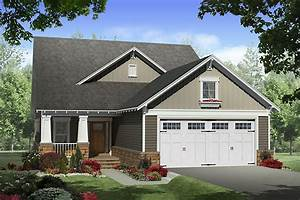 Craftsman Style House Plan - 4 Beds 2 5 Baths 2300 Sq/Ft