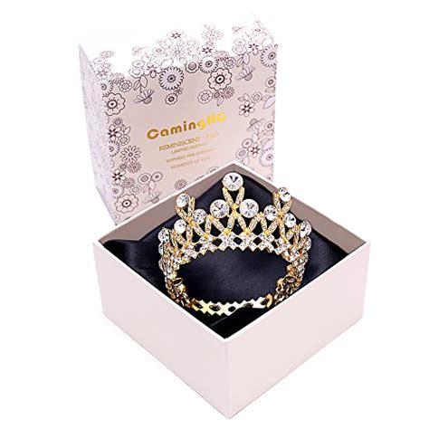 caminghg princess crown cake topper set  kids happy