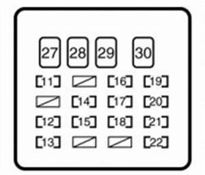 Fuse Box In Toyota Yaris. toyota yaris mk2 2009 2011 fuse ... Yaris Mk Fuse Box Diagram on