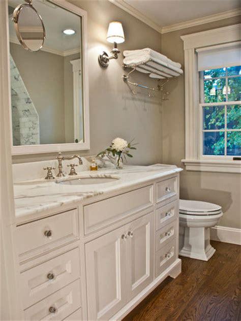 Basement Guest Bathroom  Color Edgecomb Gray, Pretty And
