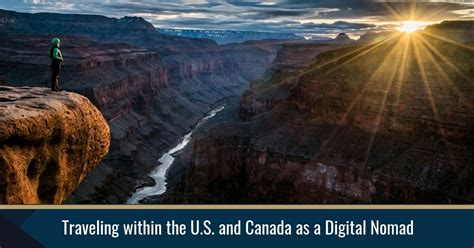 traveling within the u s and canada as a digital nomad
