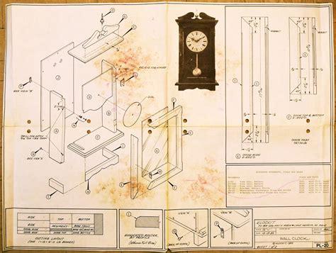 woodworking plans wooden clock design outstanding wooden wall clock plan 74 free wood wall clock
