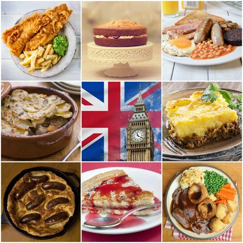 brit cuisine courses with 10 traditional foods