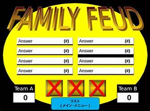 family feud powerpoint template 8 free ppt pptx With family feud powerpoint template with sound
