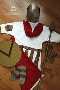 DIY Ares Greek Mythology Costume - Inspiration Made Simple